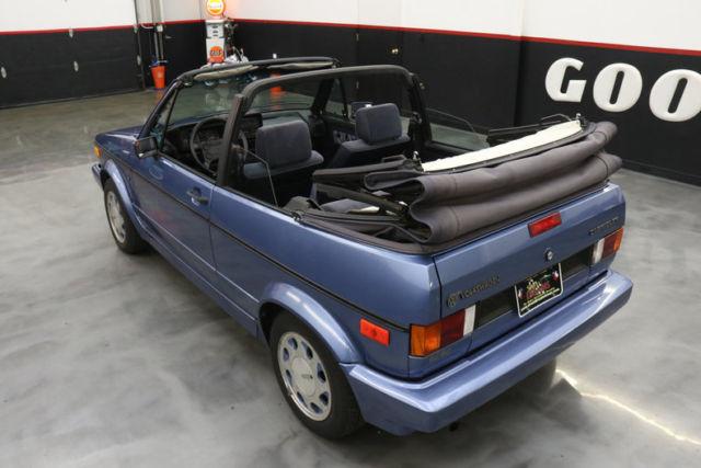 Volkswagen Fort Myers >> 1989 Volkswagen Cabriolet 2dr Convertible 5-Spd 70074 Miles blue 4 Cylinder Eng