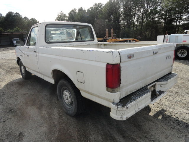 1989 white ford f150 pickup truck one owner for sale in marietta georgia united states. Black Bedroom Furniture Sets. Home Design Ideas