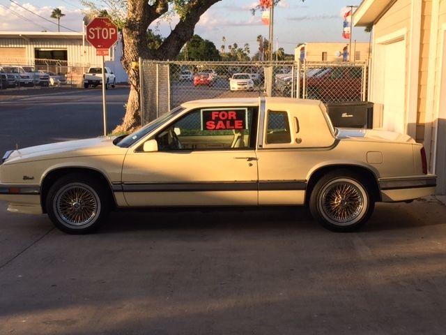 Cadillac (MI) United States  city photos : 1990 Cadillac Eldorado 2DR Coupe Cameo Yellow 108K mi 4.5V8 gold wire ...