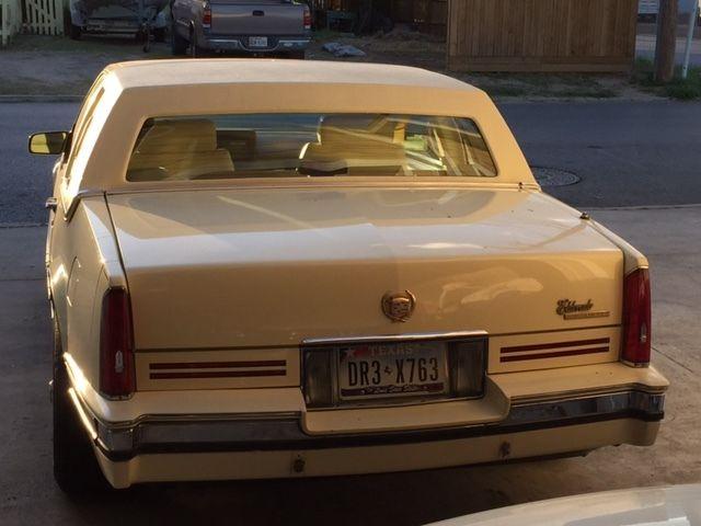 Cadillac (MI) United States  city images : 1990 Cadillac Eldorado 2DR Coupe Cameo Yellow 108K mi 4.5V8 gold wire ...