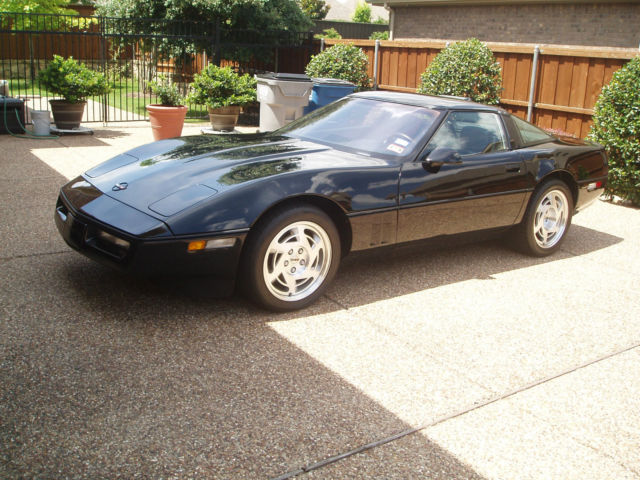 1990 chevrolet corvette zr1 very rare only 6225 miles all. Black Bedroom Furniture Sets. Home Design Ideas