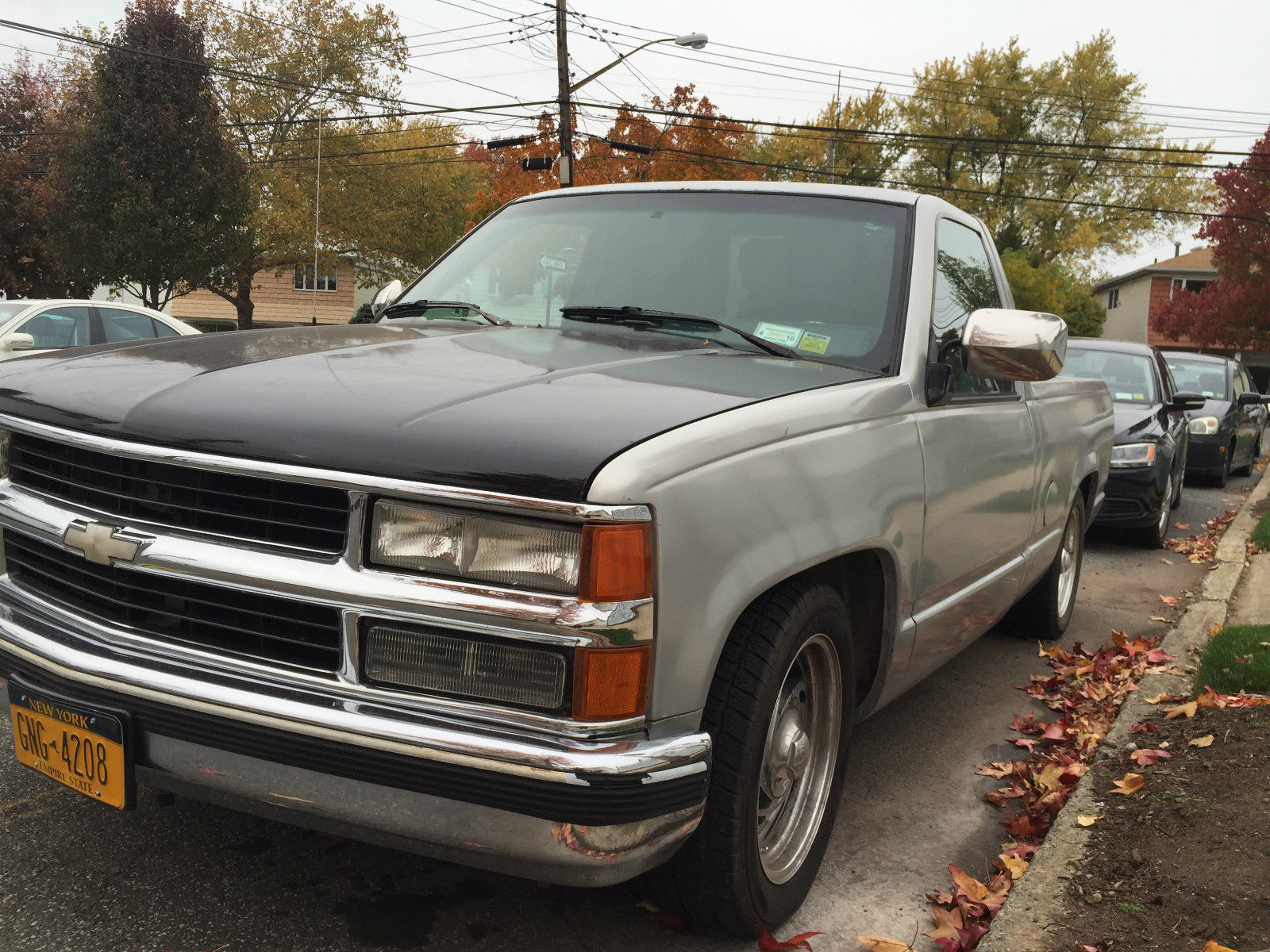 1990 chevy c1500 lowered sport truck 2x4 no reserve. Black Bedroom Furniture Sets. Home Design Ideas