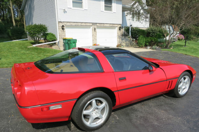 1990 corvette zr1 low miles excellent provenance. Black Bedroom Furniture Sets. Home Design Ideas