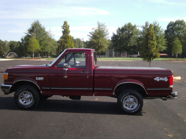 Ford F Single Cab Short Bed By Year