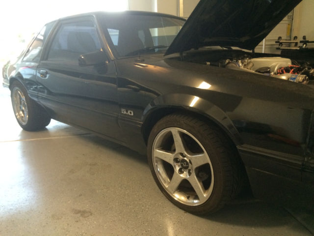 1990 Ford Mustang Foxbody Coupe 5 0 Supercharged S C Clean 302 87 93