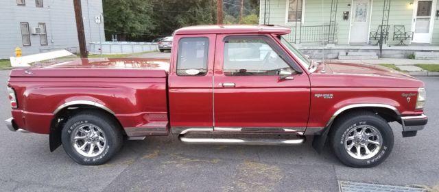 1990 ford ranger w 5 0 302 v8 custom show truck. Black Bedroom Furniture Sets. Home Design Ideas