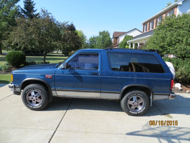 1990 Gmc Chevrolet S15 S10 S 10 S 15 Jimmy 2 Door 4 3 4x4
