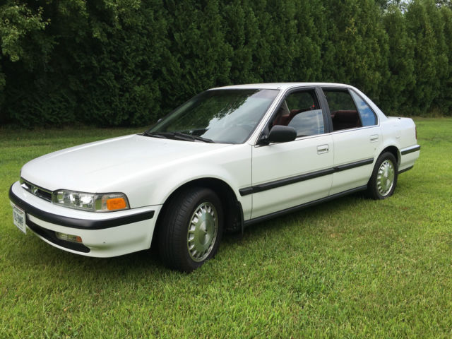 1990 honda accord 5 speed 12 000 original miles. Black Bedroom Furniture Sets. Home Design Ideas