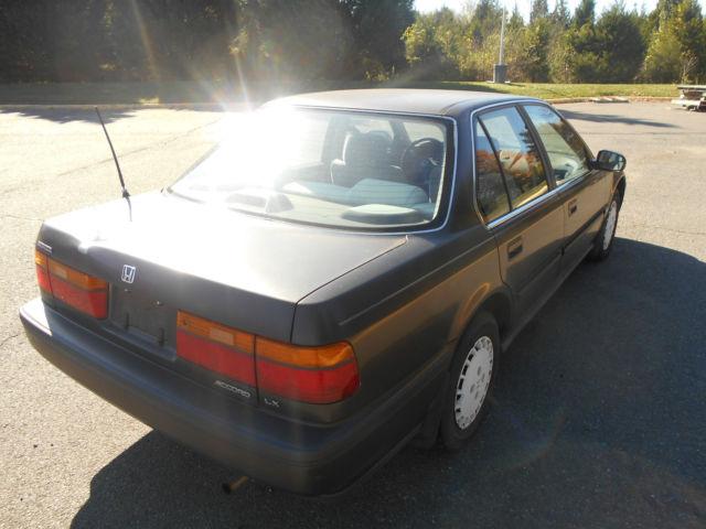 1990 honda accord lx sedan 4 door 2 2l manual transmission. Black Bedroom Furniture Sets. Home Design Ideas