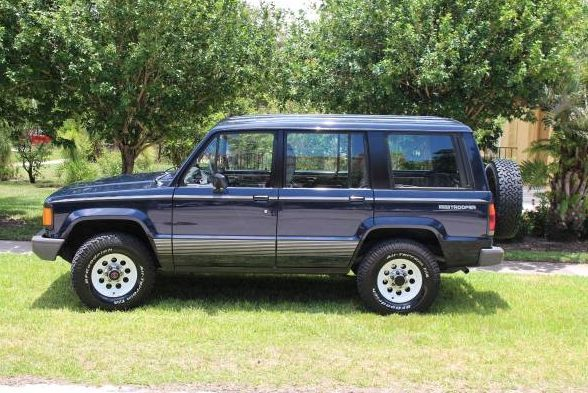 1990 isuzu trooper ii