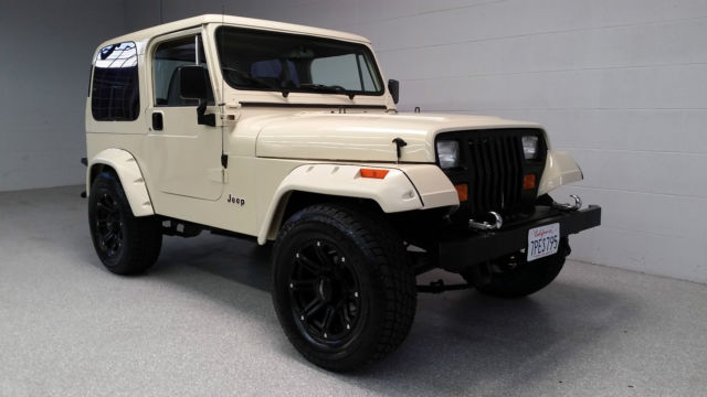 1990 jeep wrangler 4x4 fuel injected 350 v8 700r4 4 wheel. Black Bedroom Furniture Sets. Home Design Ideas