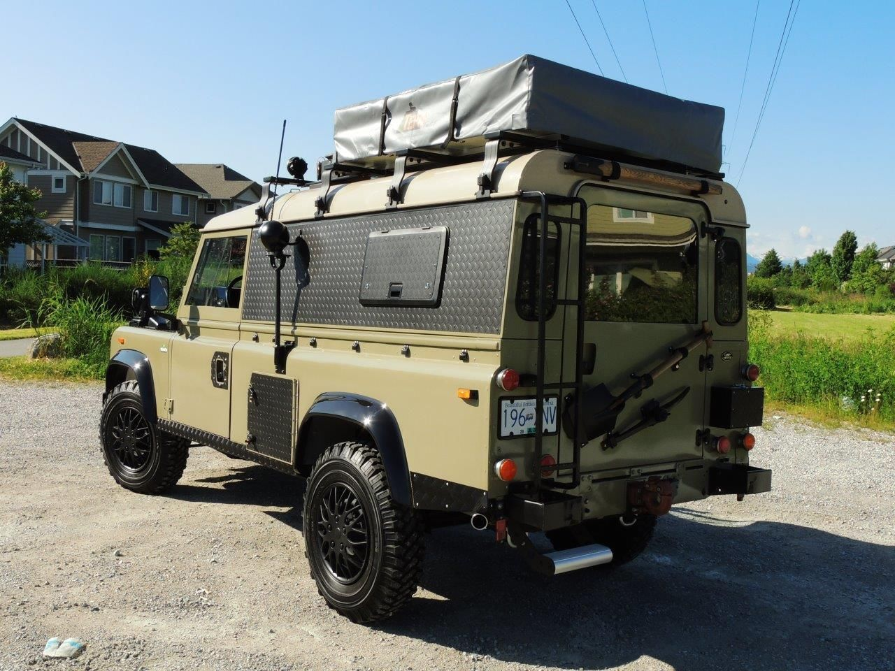 1990 land rover defender 110 expedition overland. Black Bedroom Furniture Sets. Home Design Ideas