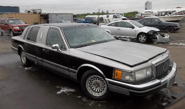 1990 Lincoln Town Car Personal Limousine Very Rare