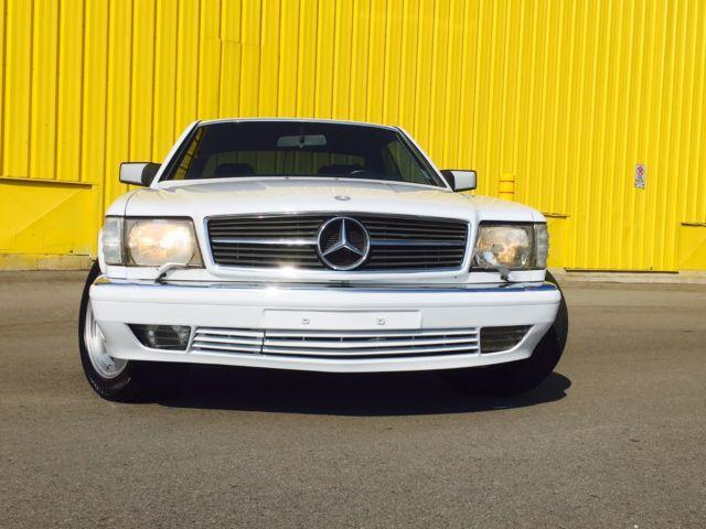 1990 Mercedes 560SEC W126 sec Coupe AMG Euro Model 59,800