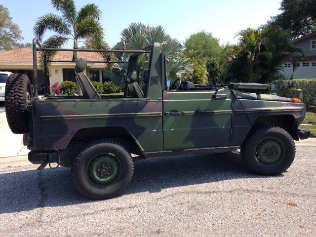 """1990 mercedes-benz 250gd """"wolf"""" 2,5l, diesel, bundeswehr, military"""