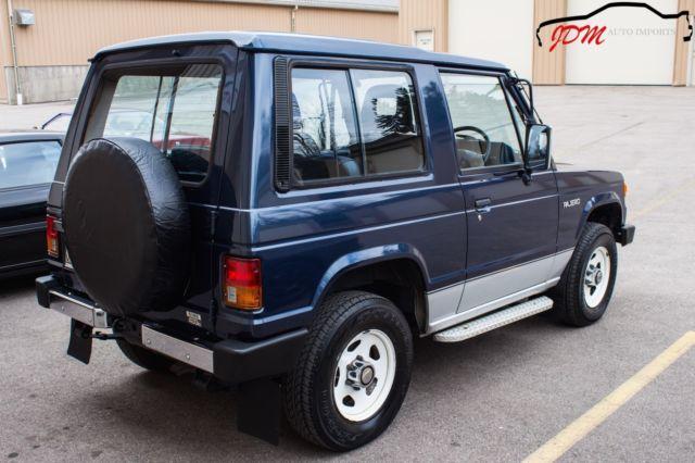 1990 mitsubishi pajero xl turbo diesel 4x4 5 speed right hand drive jdm import. Black Bedroom Furniture Sets. Home Design Ideas