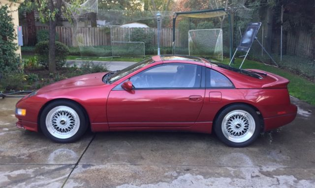 1990 Nissan 300zx Twin Turbo Red 511 Horsepower
