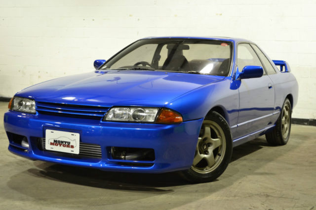 1990 nissan skyline gts t type m bayside blue. Black Bedroom Furniture Sets. Home Design Ideas