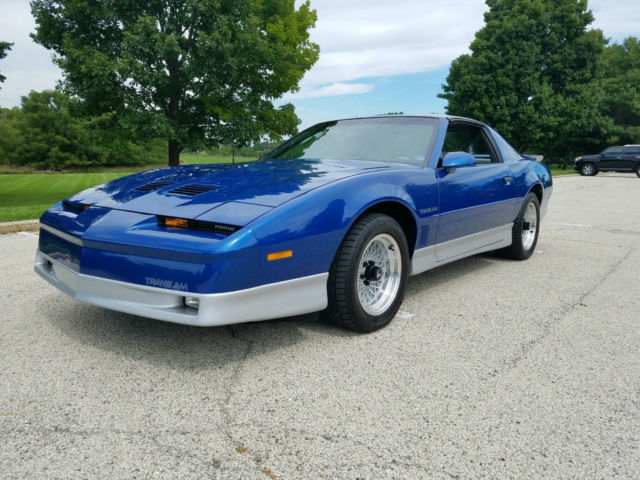 1990 pontiac firebird trans am ws6 tuned port v 8 rare. Black Bedroom Furniture Sets. Home Design Ideas