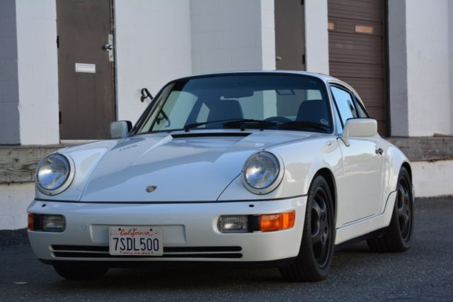 1990 porsche 911 c4 grand prix white excellent condition 5 speed. Black Bedroom Furniture Sets. Home Design Ideas