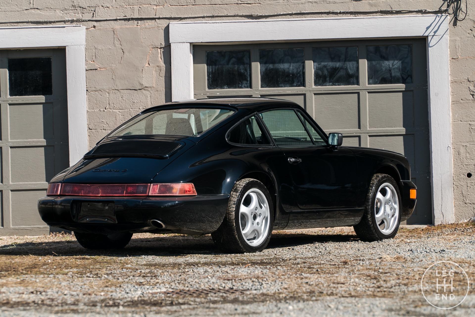 1990 porsche 911 carrera 143 334 miles black coupe. Black Bedroom Furniture Sets. Home Design Ideas