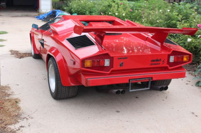 Lamborghini Countach Prova Mechaniker