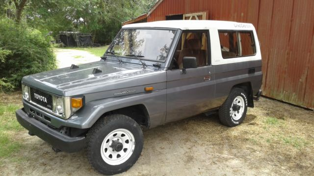 1990 toyota land cruiser bj73 2 5 l turbo diesel. Black Bedroom Furniture Sets. Home Design Ideas