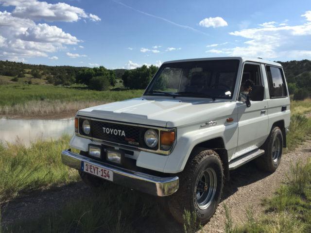 1990 Toyota Landcruiser LJ70 FJ40 LX 2.4 Liter TDi Turbodiesel 2LT Motor 28  Mpg