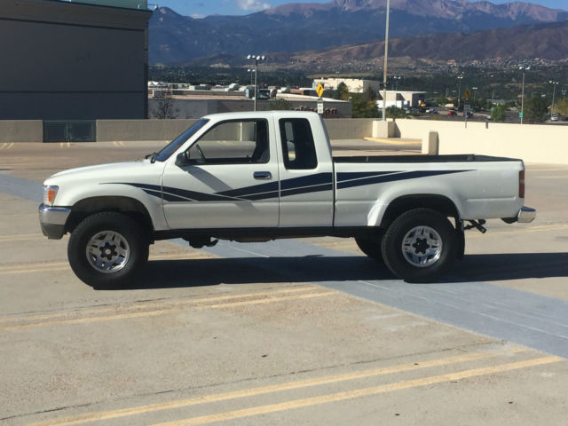 1990 toyota pickup 4x4 extra cab clean. Black Bedroom Furniture Sets. Home Design Ideas