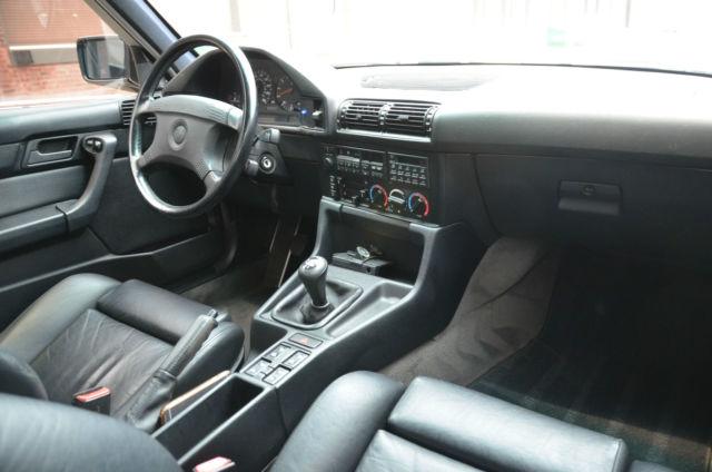 1991 Bmw M5 E34 Black On Black Dinan 5 Speed Euro Spec
