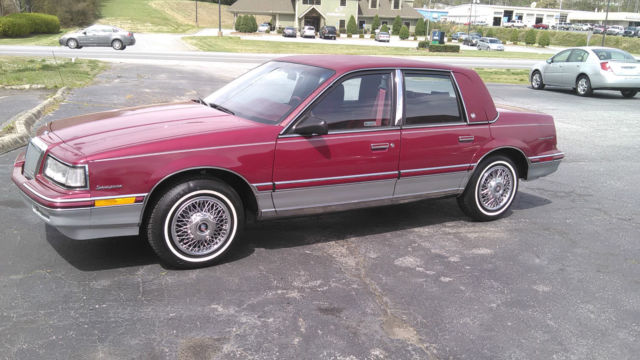 1991 Buick Skylark Luxury Edition Sedan 4 Door 33L Not A Ford Chevy