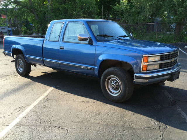 1991 Chevrolet K2500 Silverado Extended Cab Pickup 2 Door 5 7l