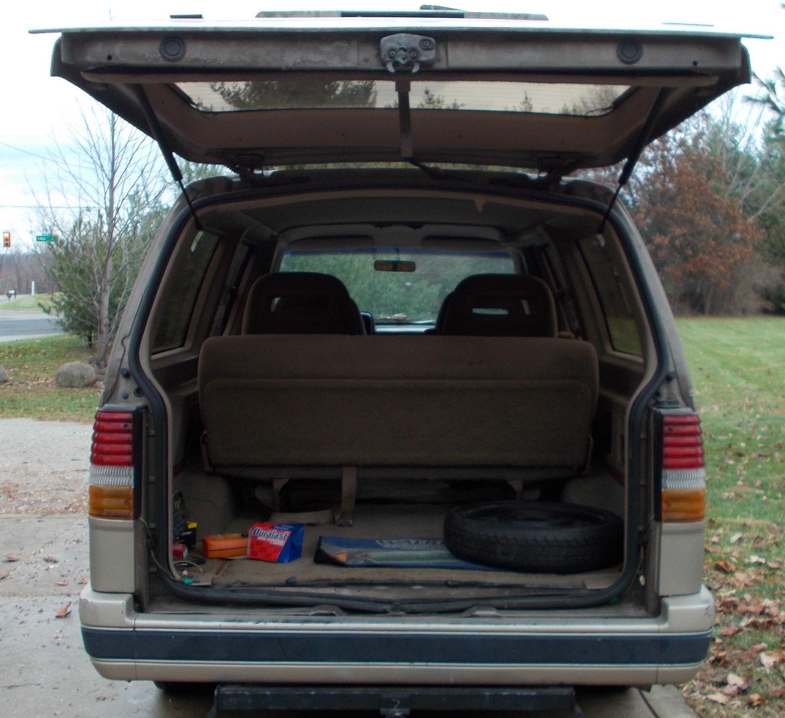 Used 2013 Ford Transit Connect Van Xlt For Sale In Yakima: 1991 Ford Aerostar Base Mini Passenger Van 2-Door 3.0L