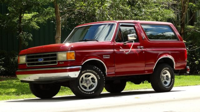 1991 ford bronco silver anniversary edition hard to find and selling