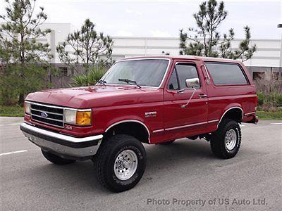 1991 ford bronco silver anniversary edition rare 5 8l v8 4x4