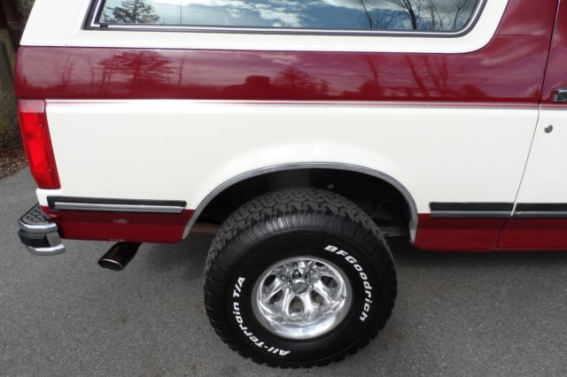 1991 Ford Bronco Xlt Rust Free Survivor Extremely Clean