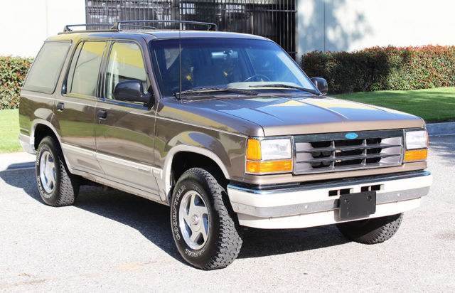 1991 ford explorer eddie bauer 4x4 in excellent condition like bronco. Black Bedroom Furniture Sets. Home Design Ideas