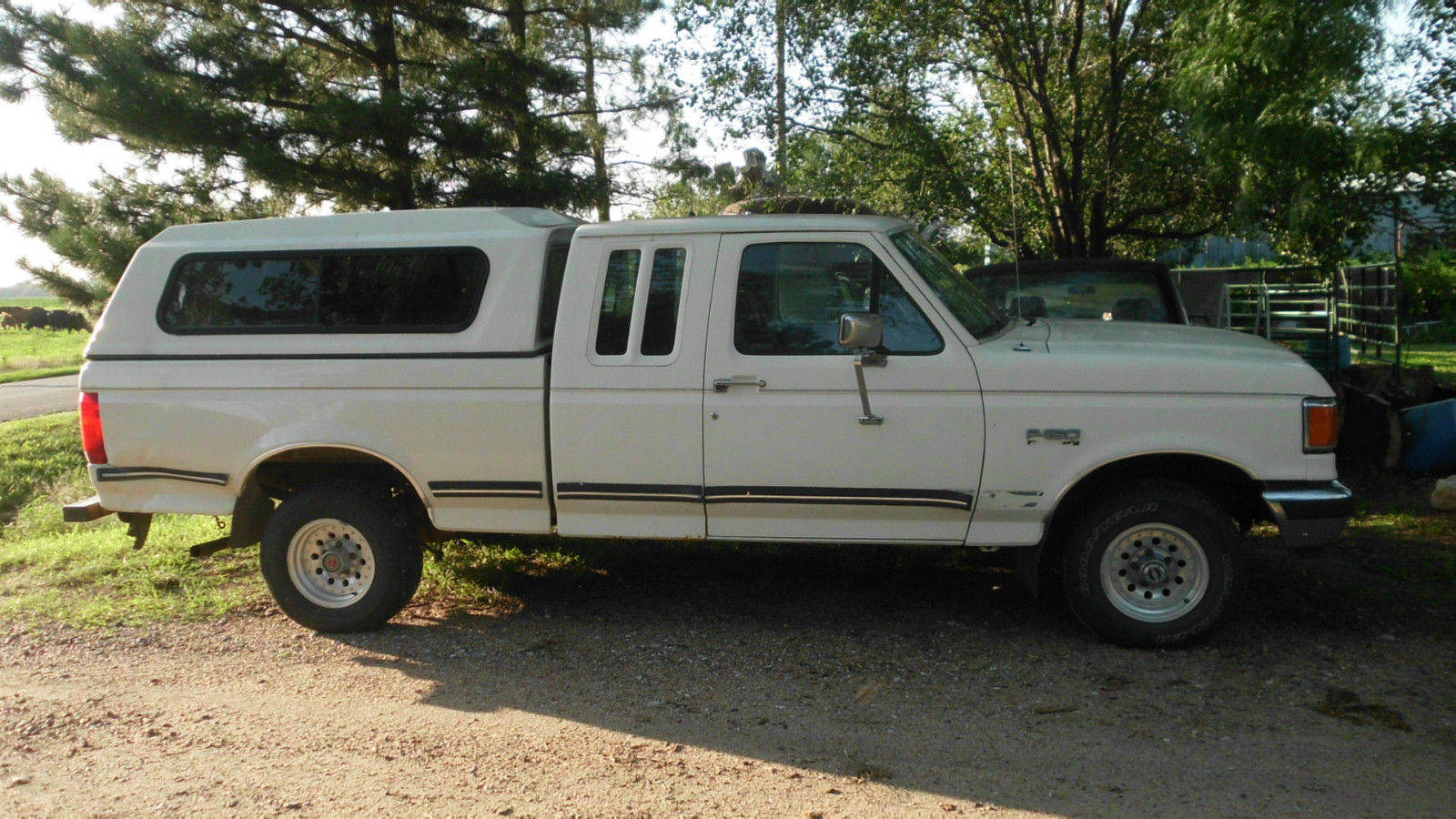 1991 ford f 150 xlt lariat extended cab pickup 2 door 5 0l