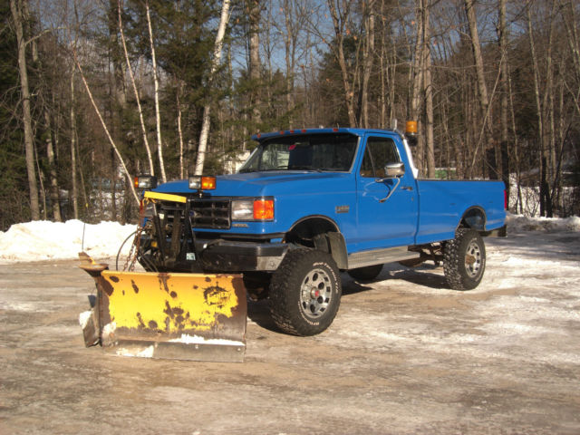 Cars For Sale In Nh >> 1991 Ford F350 4x4 7.3L diesel 5 speed v plow clean truck
