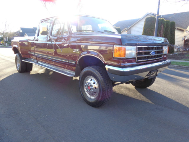 1991 Ford F350 4x4 Crew Cab Dually Long Bed 1992 1993 1994 1990 1989
