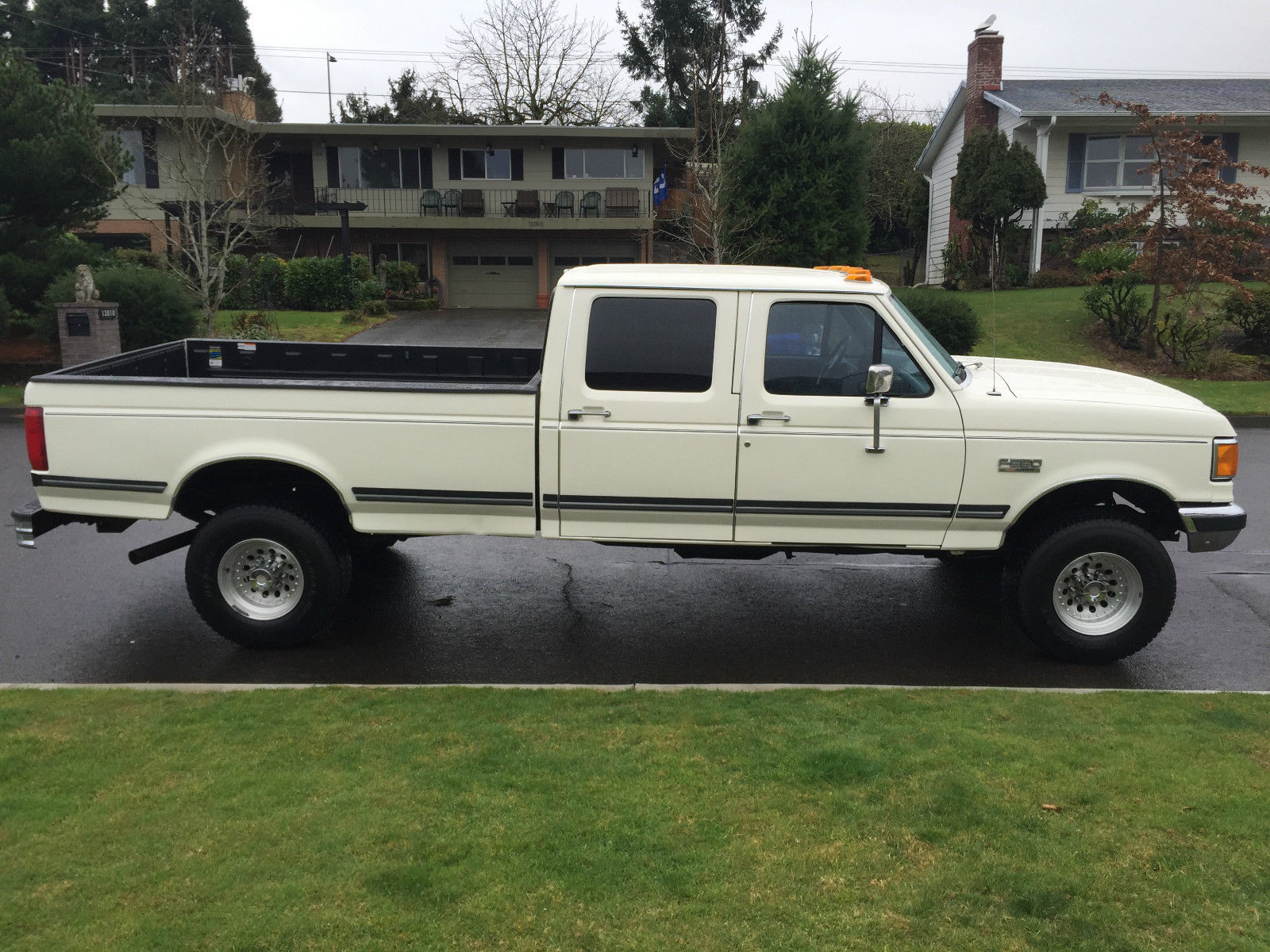 1991 Ford F350 Xlt Lariat Crew Cab Only 73 000 Miles