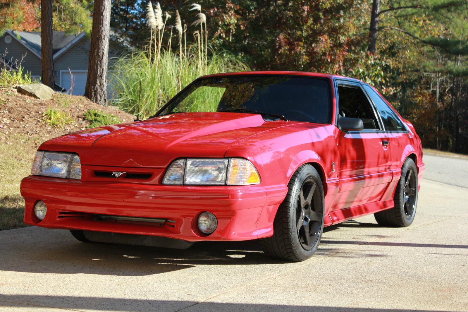 1991 Ford Mustang Gt Cobra Hatchback 2 Door 5 0l