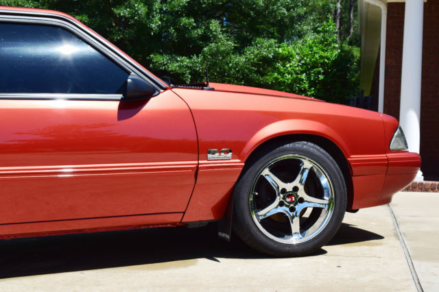 ford mustang lx coupe supercharged notch notchback