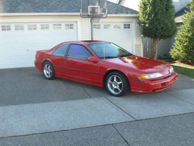 1991 Ford Thunderbird Super Coupe Coupe 2 Door 3 8l