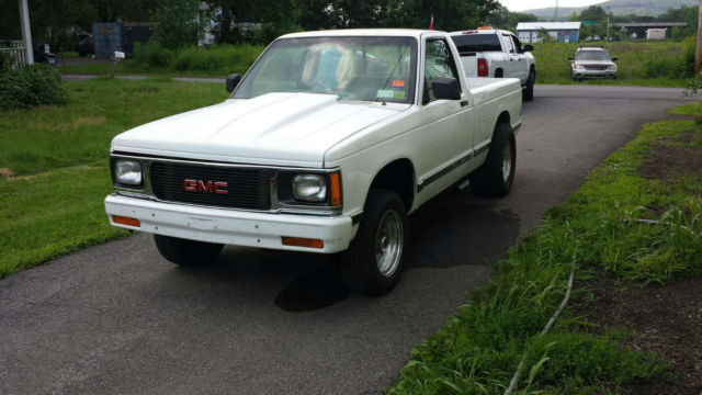 1991 Gmc Sonoma S10 Pickup Pro Street Drag Car Rolling For
