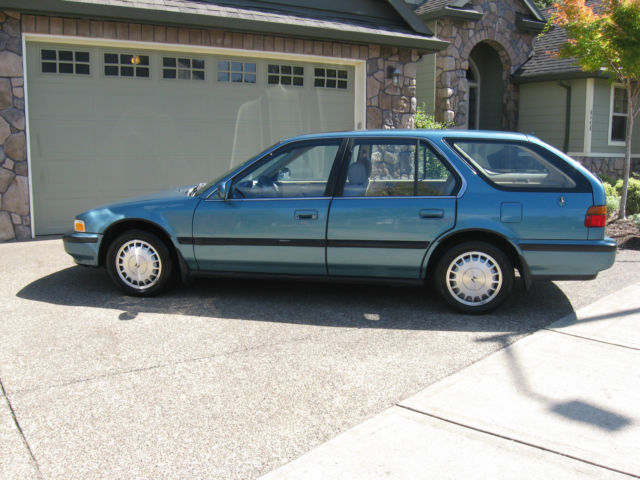 1991 Honda Accord EX Wagon 5 Door 22L