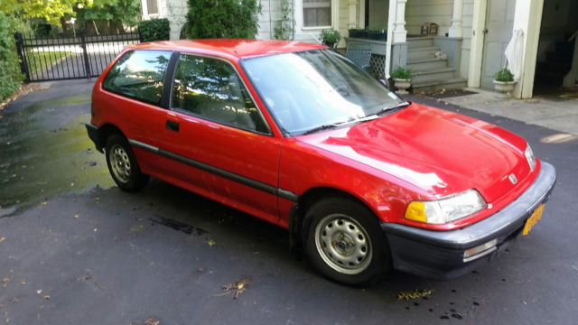 1991 honda civic base hatchback 3 door 1 5l no reserve. Black Bedroom Furniture Sets. Home Design Ideas
