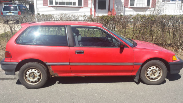 1991 honda civic base hatchback 3 door 1 5l parts. Black Bedroom Furniture Sets. Home Design Ideas