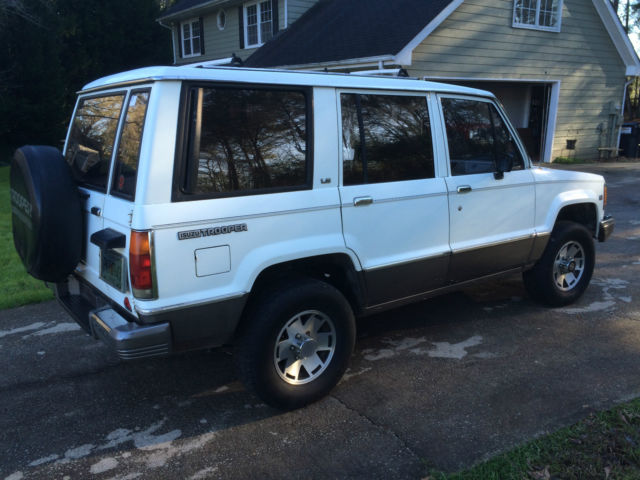 1991 Isuzu Trooper Ls 4 Wheel Drive
