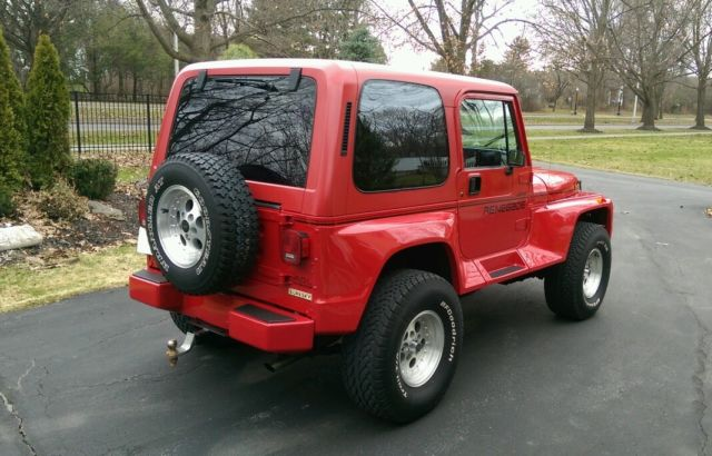1991 jeep wrangler renegade 86k miles adult owned original. Cars Review. Best American Auto & Cars Review